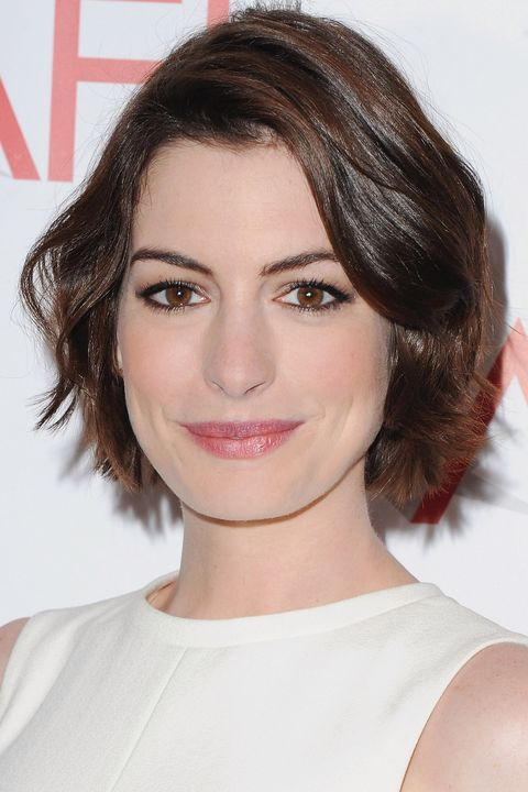 BEVERLY HILLS, CA - JANUARY 09:  Actress Anne Hathaway arrives at the 15th Annual AFI Awards at Four Seasons Hotel Los Angeles at Beverly Hills on January 9, 2015 in Beverly Hills, California.  (Photo by Jon Kopaloff/FilmMagic)