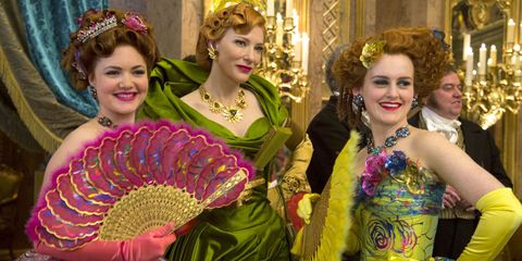 Cinderella Costume Designer On Corsets Actors Like Them