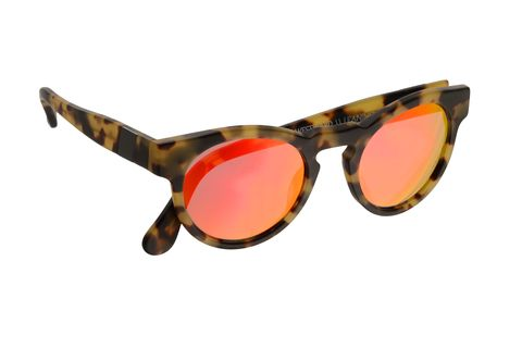 """This San Francisco company's goal is to """"make products that are beautiful and meaningful."""" A portion of the proceeds are donated to a cause (depending on the style you buy), and they've won the hearts of fashion editors and celebrities alike. Mission accomplished.   <strong>Westward Leaning </strong>sunglasses, $195, <a href=""""http://westwardleaning.com/products/voyager-v13-red-mirror-onyx-circle"""">westwardleaning.com</a>."""