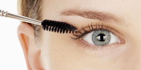 how to get faux looking lashes using baby powder baby powder