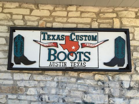 Go by Texas Custom Boots to find a pair of cool authentic vintage cowboy boots—it's a must. (Or, have a custom pair made and shipped home.)