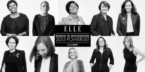 These 10 Women Are Getting It Done in Washington