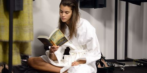 Model Book Club: What Runway Stars Are Reading Now