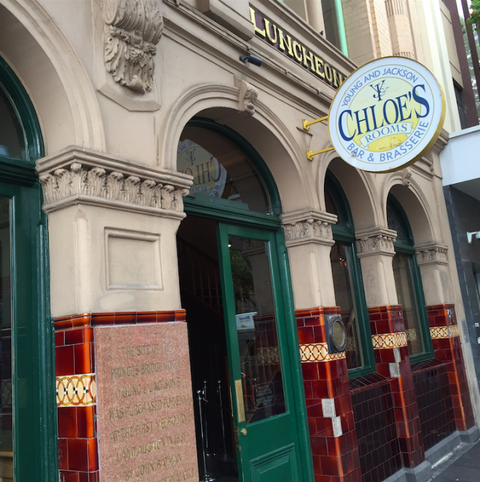 """<a target=""""_blank"""" href=""""http://www.youngandjacksons.com.au/chloe"""">(Chloe's Room at) Young and Jackson Bar and Brasserie</a>There's a legendary painting in this bar which caused quite a scandal in the 19th century. Her name is Chloe and it's something you need to see for yourself, but know that basically everyone has a drink with Chloe in Melbourne.Corner of Swanston and Flinders Street, Melbourne, Victoria"""