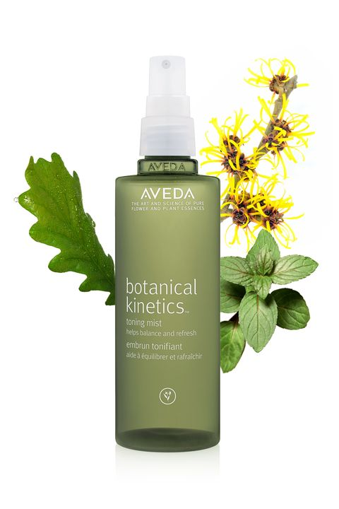 "Aveda Botanical Kinetics Toning Mist, $20; <a target=""_blank"" href=""http://www.aveda.com/product/5219/16673/Collections/Botanical-Kinetics/Botanical-Kinetics-Toning-Mist/index.tmpl"">aveda.com</a>  <strong>What's in it: </strong>White oak, witch hazel, and peppermint  <strong>For your skin: </strong>Thanks to its high tannin content, white oak is a powerful antiseptic and anti-inflammatory, and in turn has all the qualities of a well-rounded toner: It helps remove excess oil, tighten pores, and balance skin tone. Witch hazel boasts similar qualities, and peppermint soothes and cools.  <strong>For your mood: </strong>Peppermint is the active scent in this formula, and its invigorating, energizing fragrance certainly does the trick to focus the mind during an afternoon lag (or slow-to-rise morning)."