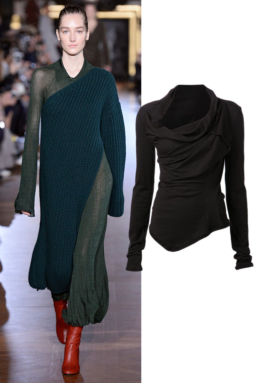 "Marc le Bihan Asymmetrical Long Sleeve Top, $488; <a target=""_blank"" href=""http://www.farfetch.com/shopping/item10864035.aspx?utm_source=polyvore.com&utm_medium=referral&utm_campaign=Tops%20Group%20C_desktop"">farfetch.com</a>"