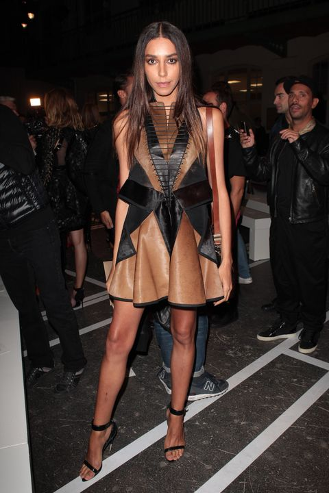 """The transgender model was discovered by Givenchy senior designer Riccardo Tisci and became the face of Givenchy in late 2010. After that, she appeared in many magazine editorials and strutted her stuff on runways. In 2014, she also became the face of Redken, making her the first openly transgender model to front a global cosmetics brand. """"I love working with Redken because they appreciate all kinds of beauty,"""" she said. """"They believe in the individuality of the person, and I think that's really important."""""""