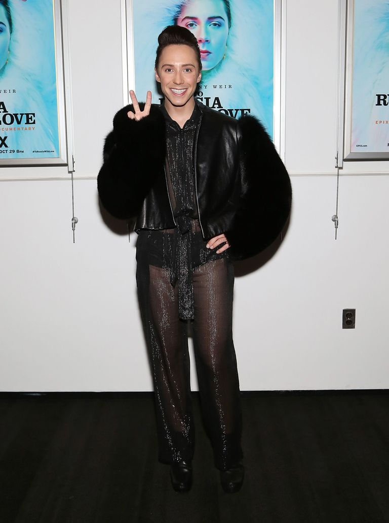 Johnny Weir Outfits