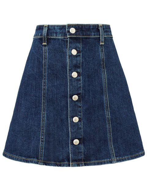 "Alexa Chung for AG Kety Skirt, $285; <a target=""_blank"" href=""http://rstyle.me/n/ydcvdbc6jf "">avenue32.com</a>"