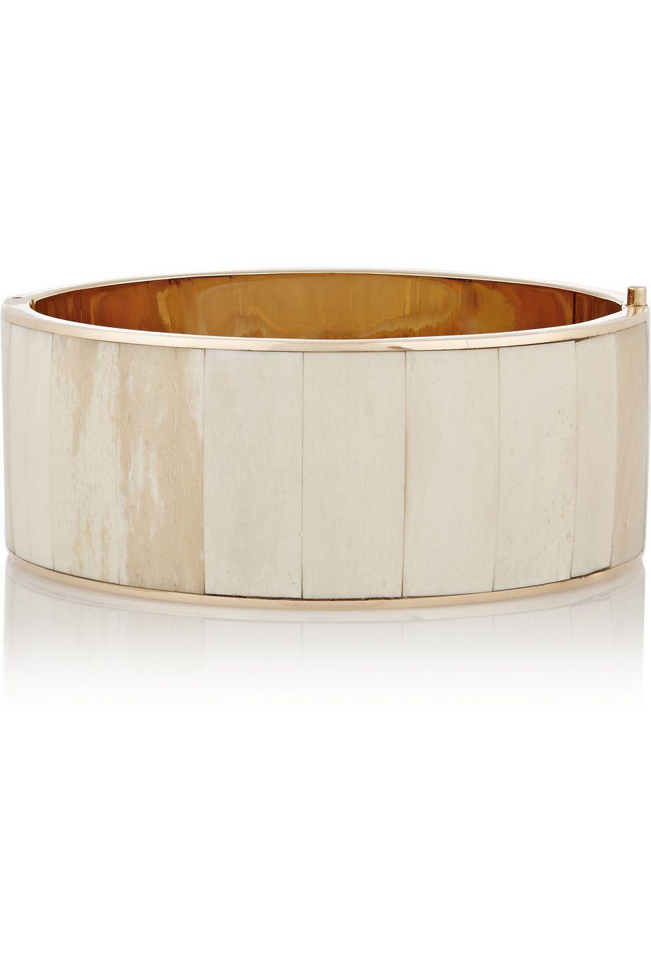 """Balmain Rose Gold-Tone Bone Choker, $2,845; &lt;a target=""""_blank"""" href=""""http://www.net-a-porter.com/product/513578/Balmain/rose-gold-tone-bone-choker-""""&gt;net-a-porter.com&lt;/a&gt;   <!--EndFragment-->"""