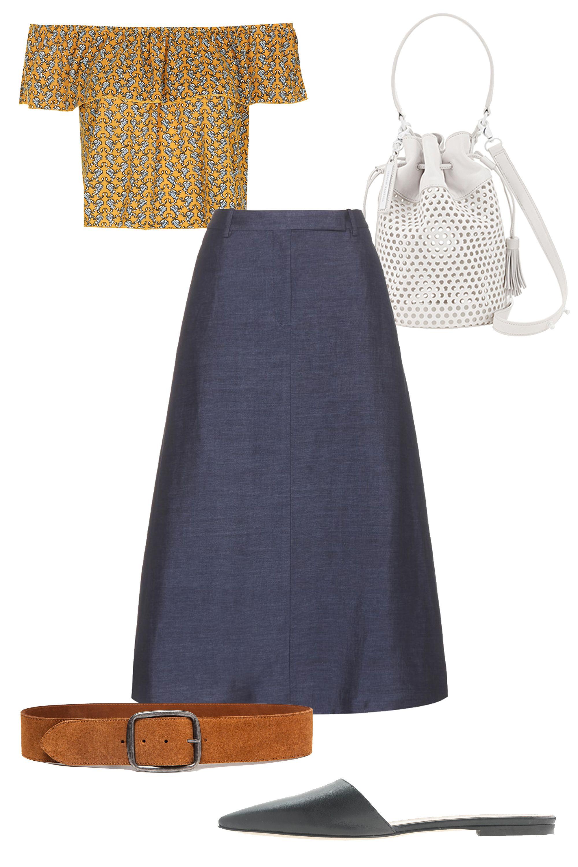 How To Wear A Denim Skirt 5 Ways To Embrace The Denim Skirt