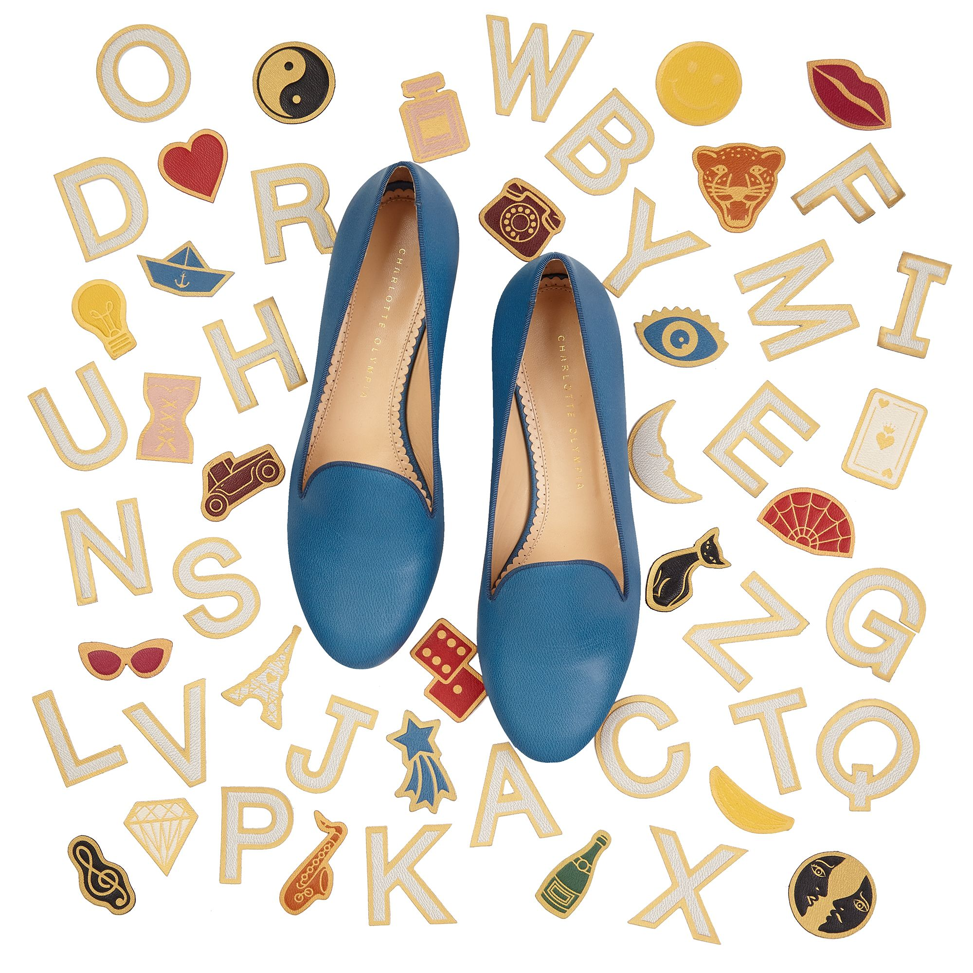 Charlotte Olympia's ABC Collection Exclusive: Charlotte
