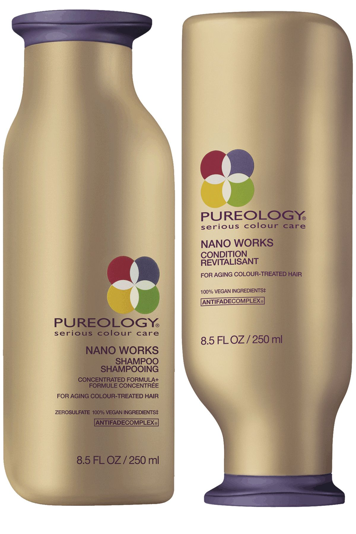 "Remember, your scalp is an extension of your skin and requires the same antiaging TLC as your face. Otherwise, your locks become vulnerable to being brittle and lackluster. Look for shampoos and conditioners containing ingredients, like vitamin E, panthenol, and coconut oil, that boost strength, shine, and smoothness. We like <strong>Pureology's </strong>NanoWorks line, $50 each, <a target=""_blank"" href=""http://www.ulta.com/ulta/browse/productDetail.jsp?productId=xlsImpprod3410071"">ulta.com</a> and <strong>Wella Professionals</strong> Age Restore Shampoo,$13, and Restoring Treatment, $12,<a target=""_blank"" href=""http://www.wella.com/professional/en-EN/product/care/age-restoring-shampoo-for-coarse-hair"">wella.com</a>"