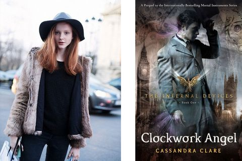 """<em>Clockwork Angel </em>by Cassandra Clare. I'm reading the whole series. I love fantasy novels; anything otherworldly with really good adventures."""