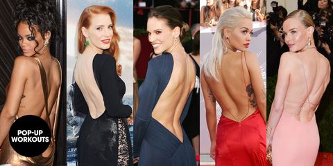 The 5-Move Backless Dress Workout