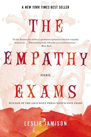 """""""I highly recommend <em><a target=""""_blank"""" href=""""http://www.amazon.com/The-Empathy-Exams-Leslie-Jamison/dp/1555976719"""">The Empathy Exams</a></em> by Leslie Jamison. She has an incredible ability to write non-fiction personal essays that still have a real literary quality to them. Each essay is chilling and refreshing, and they feel like required reading for the modern woman. I don't want to give too much away, but her perspective and clarity is astounding. Enjoy!"""""""
