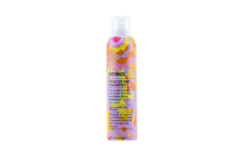 "<p>Amika Perk Up Dry Shampoo, $21; <a target=""_blank"" href=""https://www.birchbox.com/shop/amika-perk-up-dry-shampoo"">birchbox.com</a></p> <p>Since your bangs are constantly pressed against your forehead, they're much more prone to getting oily than the rest of your hair—which makes dry shampoo a <em>must </em>for an instant perk-up in between washes.<em> </em>This cult fave option is aluminum-free (uncommon for most powders on the market), touts a cocktail of completely natural ingredients, and smells <em>amazing</em>.</p>"