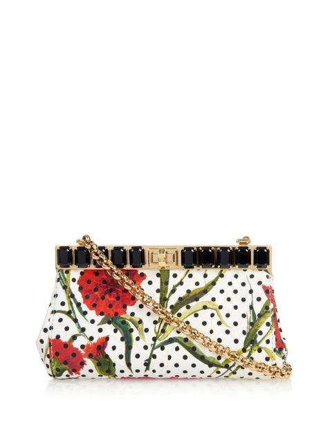 "Dolce &amp;amp; Gabbana Marlene Printed Brocade Clutch, $1,754; &lt;a target=""_blank"" href=""http://rstyle.me/n/ytgazbc6jf""&gt;matchesfashion.com&lt;/a&gt;   <!--EndFragment-->"