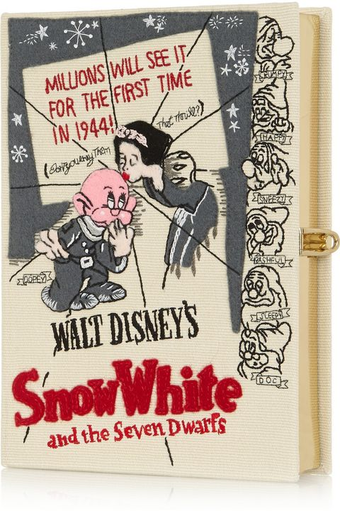 """My love for reading and the magic of fairy tales comes from my mother, so I'd love to get her this cheeky, gorgeous Olympia Le-Tan clutch. <em>Snow White</em>, incidentally, was the first Disney movie I ever saw, so it seems fitting and perfectly nostalgic for Mother's Day. Plus, I'd enjoy stealing it from her on occasion.""  Olympia le Tan + Disney© Snow White Embroidered Clutch, $1,880; <a target=""_blank"" href=""http://www.net-a-porter.com/product/516590/Olympia_Le_Tan/-disney-snow-white-embroidered-clutch"">net-a-porter.com</a>   <!--EndFragment-->"