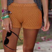 Clothing, Brown, Human leg, Joint, Waist, Pink, Magenta, Summer, Petal, Thigh,