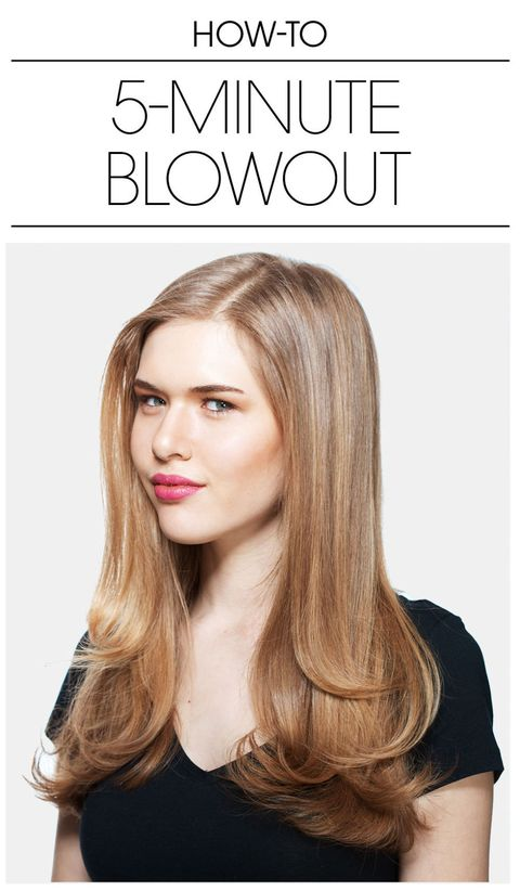 Blowout Hair in 5 Minutes - How to Master the Perfect ...