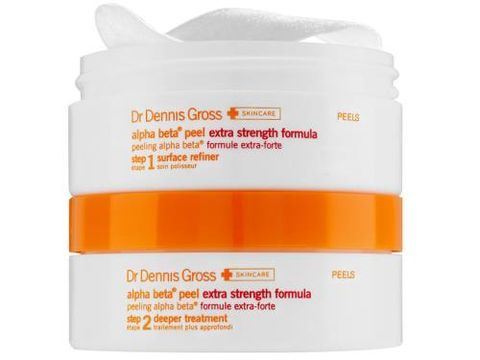 "Facialists and derms do agree on one thing: The Dr. Dennis Gross Alpha Beta Peel, with regular use, will help prevent acne and minimize wrinkles.  Dr. Dennis Gross Skincare Extra Strength Alpha Beta Peel, $84; <a target=""_blank"" href=""http://www.lovelyskin.com/o/dr-dennis-gross-skincare-extra-strength-alpha-beta-daily-face-peel-30-applications?lsat=ONESTEP&amp;ref=gbase&amp;mkwid=juaO8KxW&amp;pcrid=47071746980&amp;gclid=Cj0KEQjwgI6pBRDak6aRovWNqLsBEiQA8zZSLlHKhOhx2AXk3W4l5hp0tWfwmf3YVZOhIYXxAeL8yt0aAlNY8P8HAQ"">lovelyskin.com</a>"