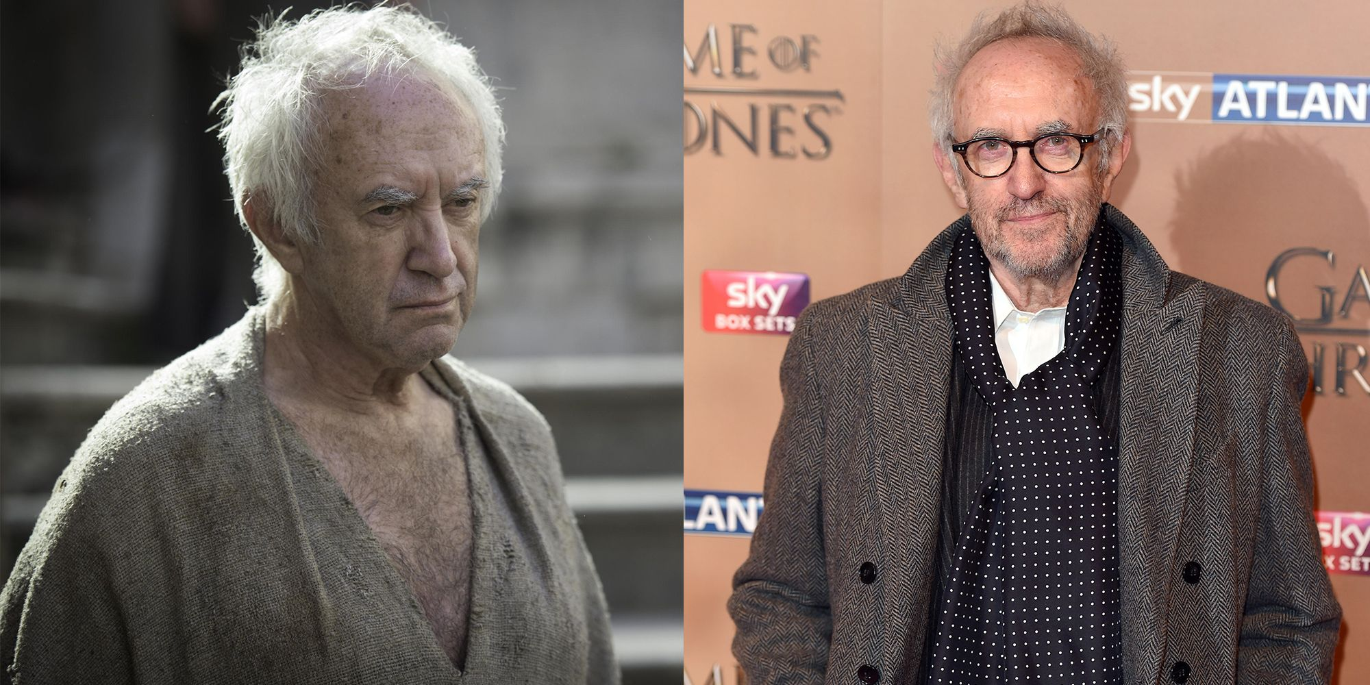 High Sparrow (Jonathan Pryce) Transformation : 7.