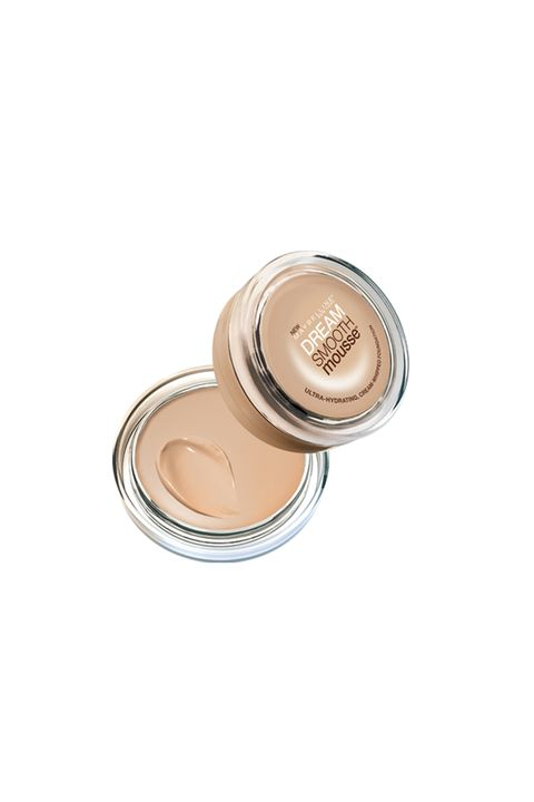 """Maybelline Dream Smooth Mousse, $10; <a target=""""_blank"""" href=""""http://www.maybelline.com/Products/Face-Makeup/Foundation/dream-smooth-mousse.aspx"""">maybelline.com</a>  """"I've tried all the fancy under eye concealers (YSL Touche Eclat, all that stuff) but I still keep coming back to this drugstore buy I picked up on a whim years ago. I didn't even realize it's technically foundation, not concealer, but I was intrigued by the whipped, creamy texture, which is the best part: If you apply it with clean fingers, the warmth of your body heat makes it melt right in under your eyes and go on so perfectly. Its perfect for dry skin types like me, and never creases or cakes."""""""