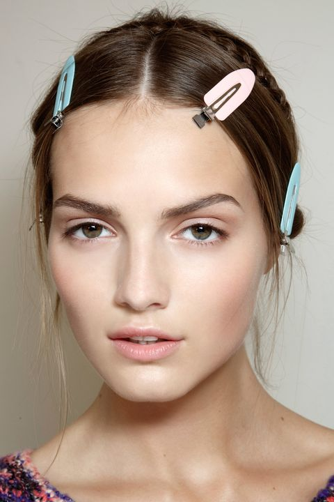 """""""I use these flat guitar-like clips for <em>everything</em>,"""" says Vigi. """"They can set a finger wave, help flatten flyways, and if a makeup artist has to do touchups, I can get hair out of the way without making a mark.""""  Lady Mate Super Single Curl Clip Pins, $29.95 (for 24), <a target=""""_blank"""" href=""""https://shearworld.com/node/234"""">shearworld.com</a>"""