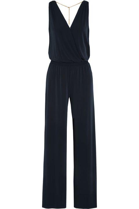 "MICHAEL Michael Kors Embellished Stretch-Jersey Jumpsuit, $140; <a target=""_blank"" href=""http://www.net-a-porter.com/us/en/product/523529"">net-a-porter.com</a>   <!--EndFragment-->"
