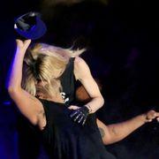 Elbow, Wrist, Back, Blond, Performance art, Dance, Dancer, Ankle,
