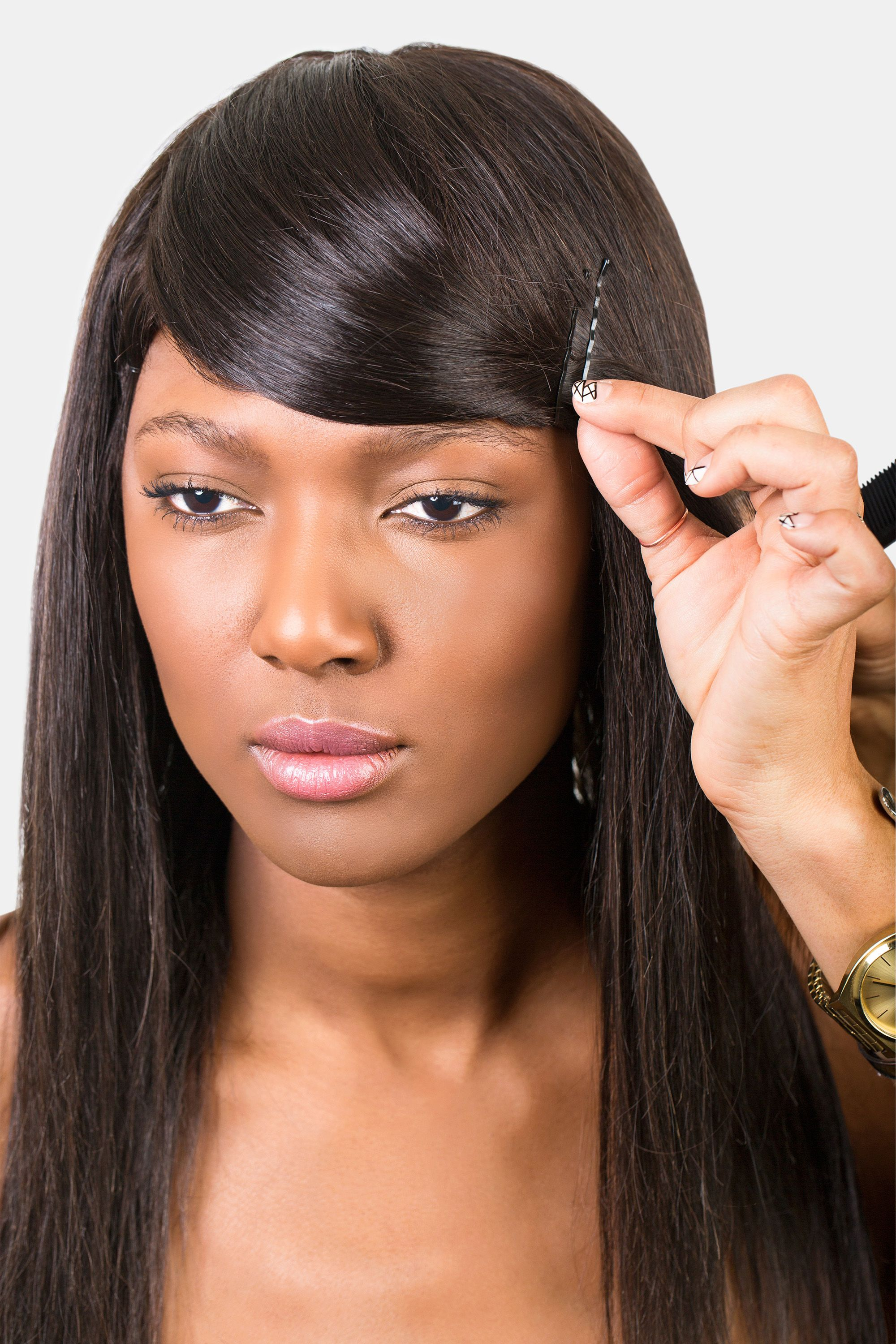 how to style bangs - 5 hairstyles to keep your bangs out of your face