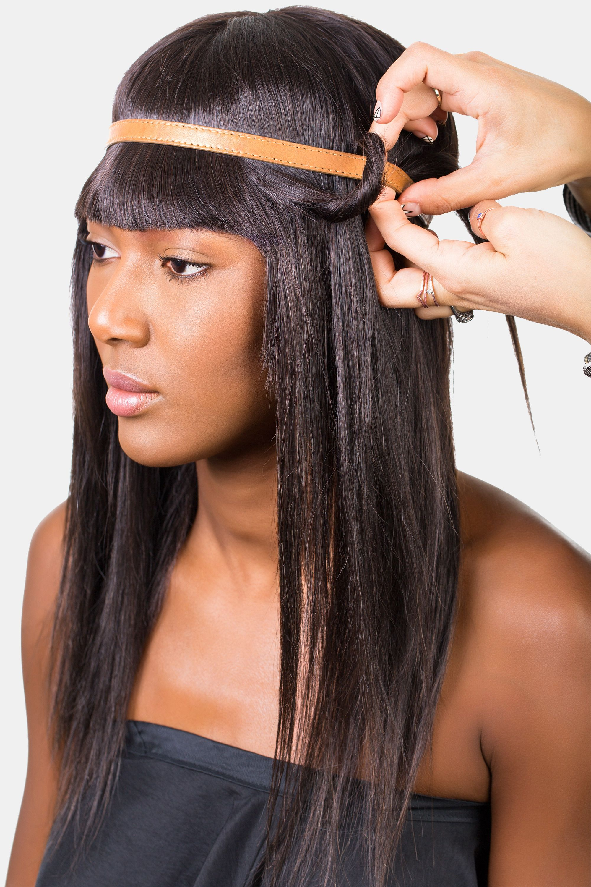 How to style bangs 5 hairstyles to keep your bangs out of your face urmus Gallery