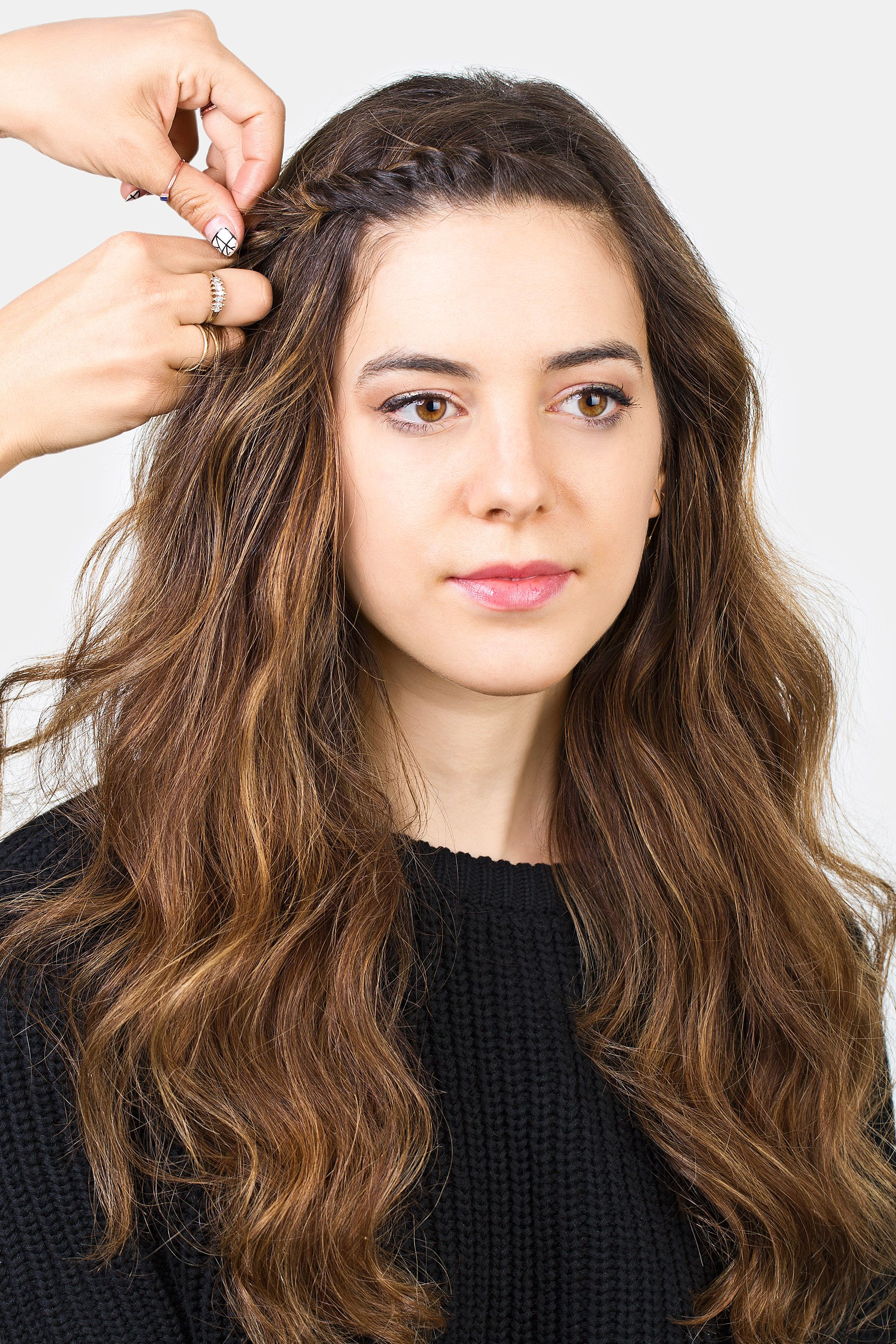 How To Style Bangs 5 Hairstyles To Keep Your Bangs Out Of Your Face