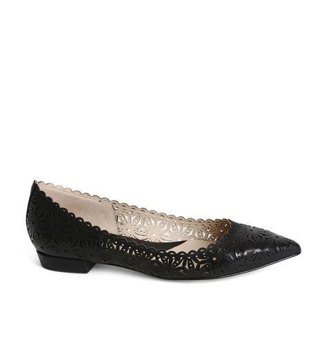 "Carolinna Espinosa Royal Flats, $245; <a target=""_blank"" href=""http://shop.carolinnaespinosa.com/products/royal"">carolinnaespinosa.com</a>"