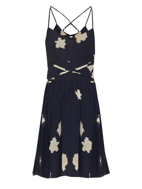 "Band of Outsiders Floral-Print Seersucker Dress, $545; <a target=""_blank"" href=""http://www.matchesfashion.com/products/1010141"">matchesfashion.com</a>   <!--EndFragment-->"