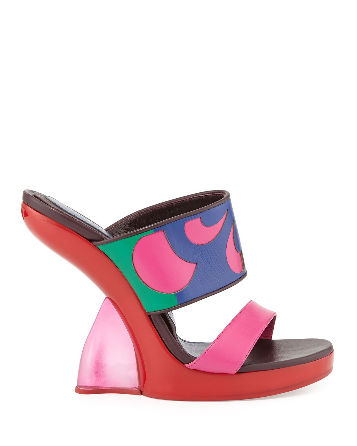 "Alexander McQueen Double-Band Wedge Slide Sandal, $1,720&#x3B; <a href=""http://www.bergdorfgoodman.com/Alexander-McQueen-Double-Band-Wedge-Slide-Sandal-Fuchsia-Pink/prod104080031_cat223300__/p.prod?icid=&amp&#x3B;searchType=EndecaDrivenCat&amp&#x3B;rte=%2Fcategory.service%3FitemId%3Dcat223300%26pageSize%3D120%26No%3D120%26Ns%3DPCS_SORT%26refin"">bergdorfgoodman.com</a>