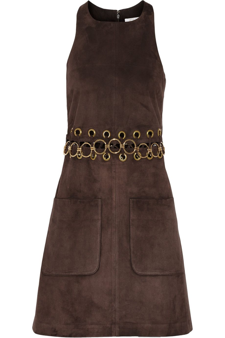 "Chlo&eacute; Embellished Suede Mini Dress, $2,795; &lt;a href=""http://www.net-a-porter.com/product/544814/Chloe/embellished-suede-mini-dress""&gt;net-a-porter.com&lt;/a&gt;   <!--EndFragment-->"