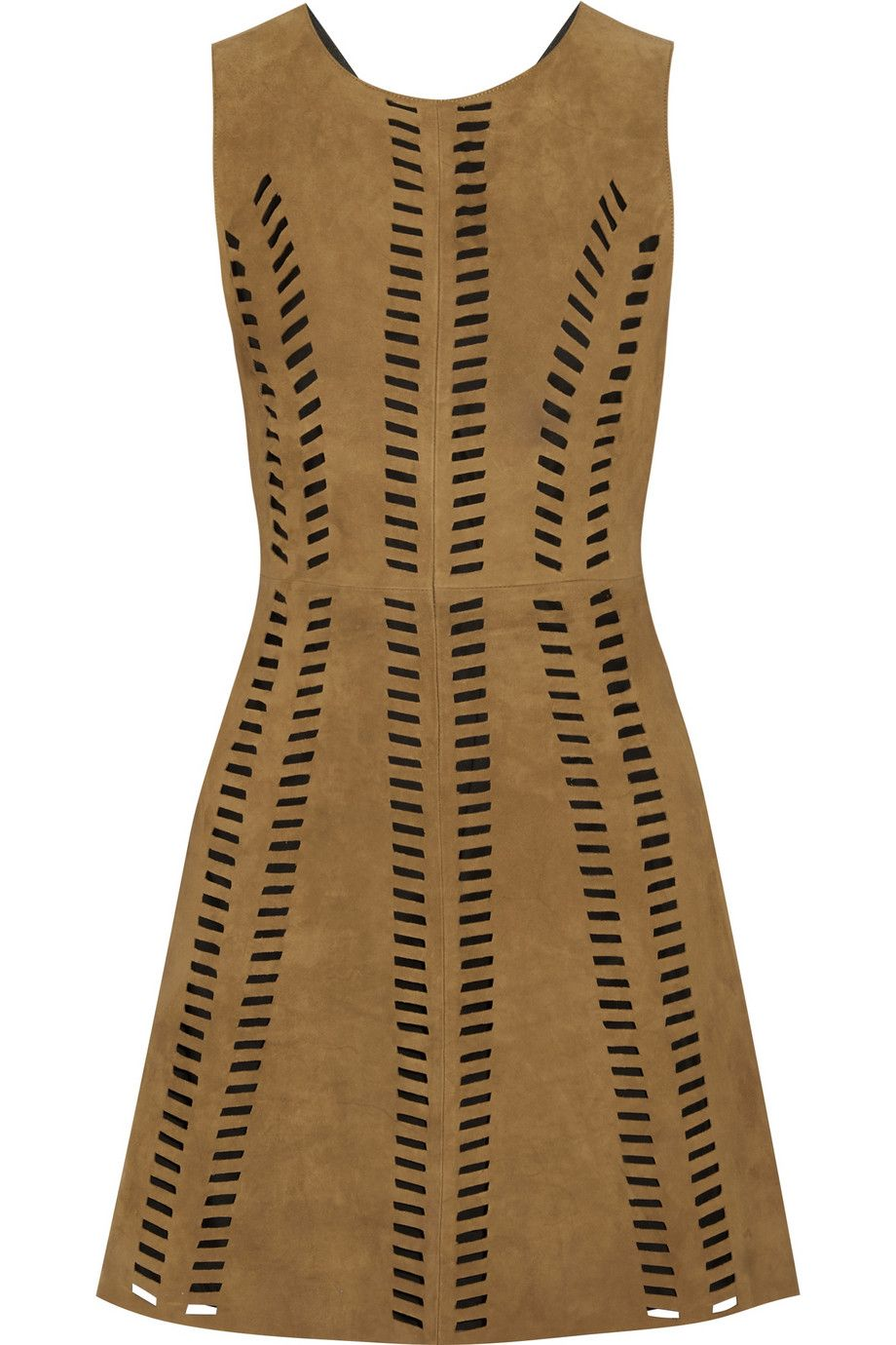 "Maje Rigolette Perforated Suede Mini Dress, $660; &lt;a href=""http://www.net-a-porter.com/us/en/product/558400/Maje/rigolette-perforated-suede-mini-dress""&gt;net-a-porter.com&lt;/a&gt;   <!--EndFragment-->"