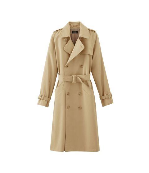"""A.P.C. Greta Trench Coat, $660; &lt;a href=""""http://usonline.apc.fr/greta-trench-coat-coasd-f01150#Beige&amp;amp;22""""&gt;apc.fr&lt;/a&gt;   <!--EndFragment-->"""