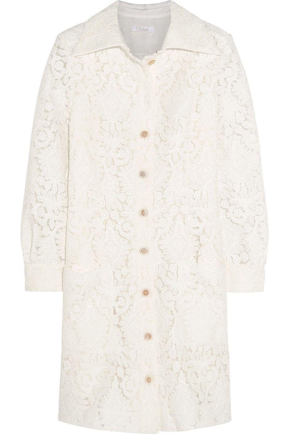"Chloé Lace Mini Dress, $4,350&#x3B; <a href=""http://www.net-a-porter.com/us/en/product/544804"">net-a-porter.com</a> <!--EndFragment-->"