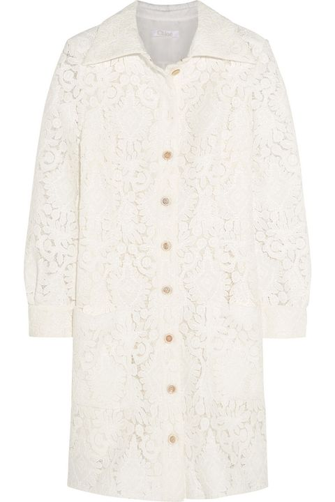 "Chloé Lace Mini Dress, $4,350; <a href=""http://www.net-a-porter.com/us/en/product/544804"">net-a-porter.com</a>   <!--EndFragment-->"