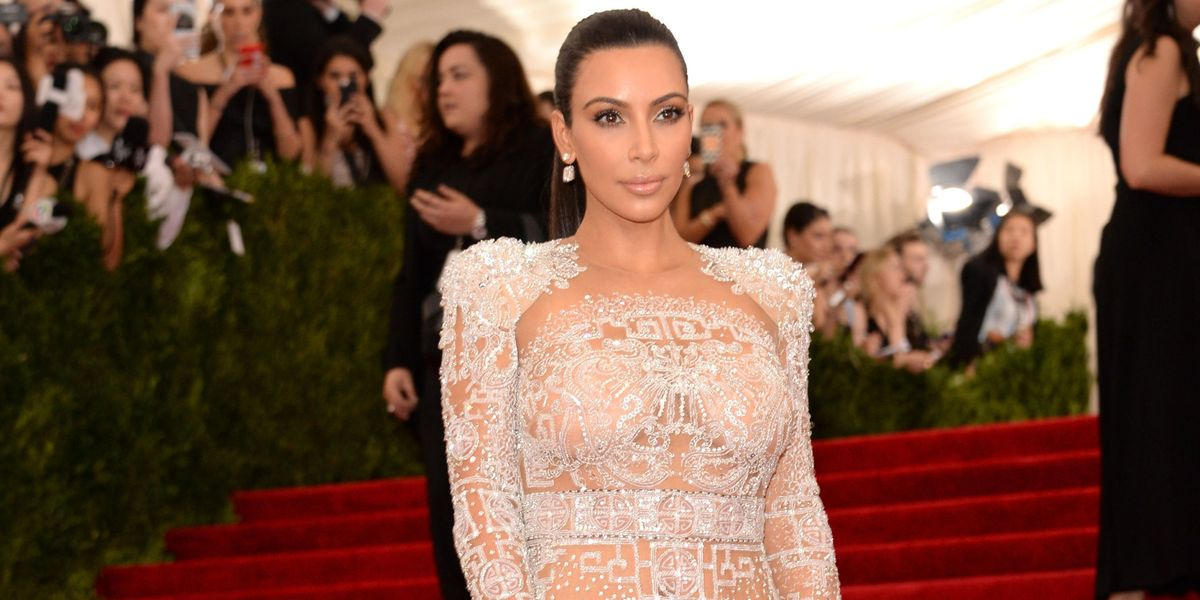Kim Kardashian Dons Her Most Naked Naked Dress Yet At Vogue 100 Dinner   HuffPost Canada
