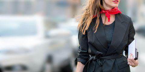 Clothing, Lip, Collar, Sleeve, Outerwear, Coat, Style, Fashion, Blazer, Street fashion,