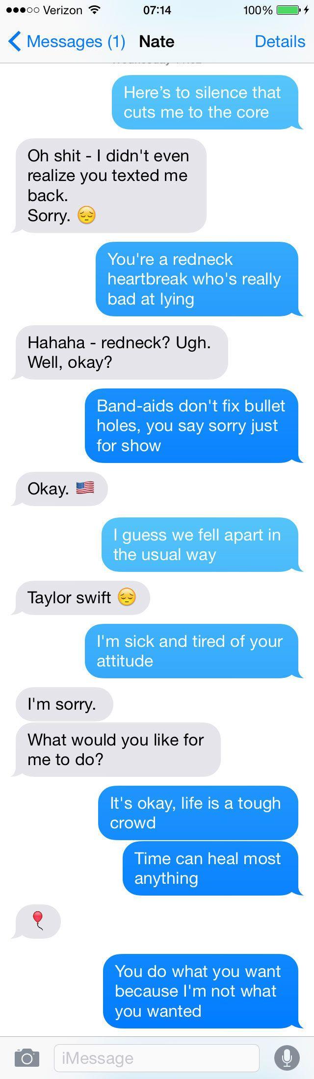 flirting moves that work through text lyrics one way lyrics
