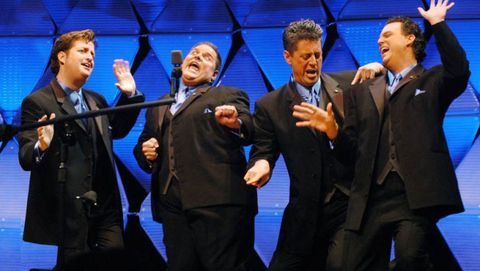 An in-depth examination of the high stakes competition that exists in the underground world of barbershop quartets. It's like <em>Best in Show</em>, but, you know, real...