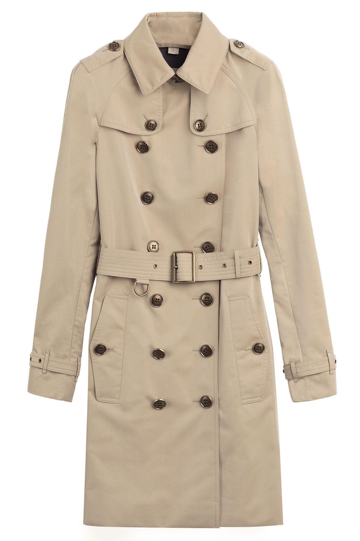 "Burberry Brit Felden Cotton Blend Trench Coat, $1,495; &lt;a href=""http://www.stylebop.com/product_details.php?id=607252""&gt;stylebop.com&lt;/a&gt;   <!--EndFragment-->"