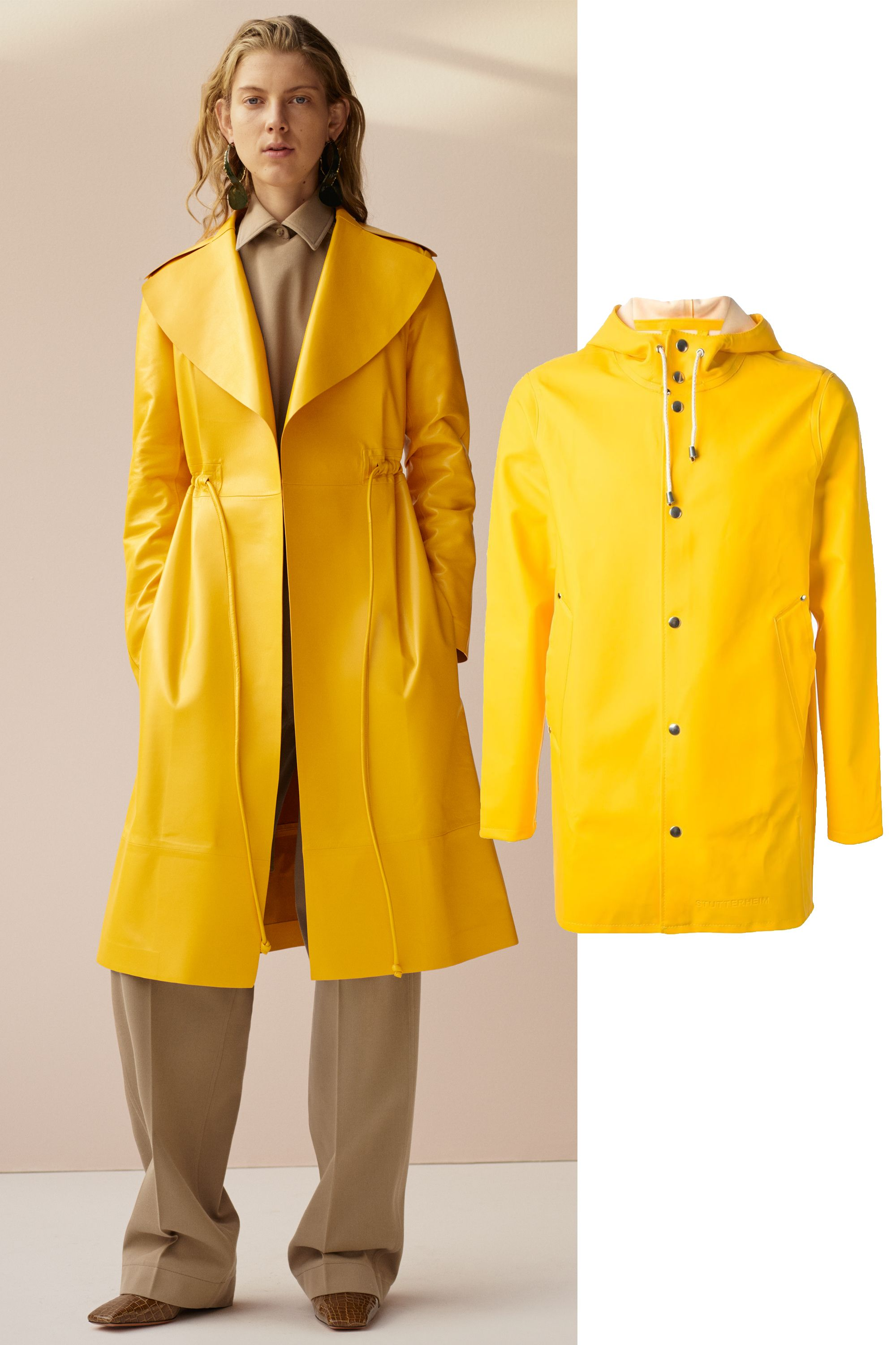 "&lt;p&gt;Paddington Bear was the chicest around (especially if Pheobe Philo says so). Get yourself a yellow raincoat,&lt;em&gt; immediately&lt;/em&gt;. &lt;/p&gt; &lt;p&gt;Stutterheim Stockholm Raincoat, $237; &lt;a target=""_blank"" href=""http://rstyle.me/n/z382vbc6jf""&gt;farfetch.com&lt;/a&gt;&lt;/p&gt; &lt;p&gt; <!--EndFragment-->&lt;/p&gt;"