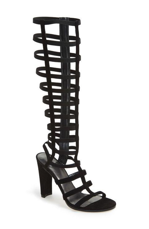 """Stuart Weitzman CagedUp Gladiator Sandal, $535; &lt;a target=""""_blank"""" href=""""http://rstyle.me/n/z8augbc6jf""""&gt;nordstrom.com&lt;/a&gt;   <!--EndFragment-->"""