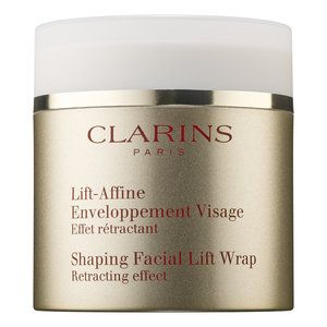 """<!--StartFragment--> Like Spanx for skin, this tightening mask targets puffiness with Chinese barley, an ingredient that's proven to reduce water retention. The result? An immediately sharper jawline, no<a target=""""_blank"""" href=""""http://www.elle.com/beauty/news/a28128/get-a-ridiculously-chiseled-jawline-without-liposuction/""""> Kybella</a> needed.  Clarins Shaping Facial Lift Wrap, $55, <a target=""""_blank"""" href=""""http://www.clarinsusa.com/en/shaping-facial-lift-wrap/C010202007.html?start=6"""">clarins.com</a>   <!--EndFragment-->"""